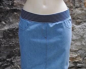 """Jeans"" - woman skirt"