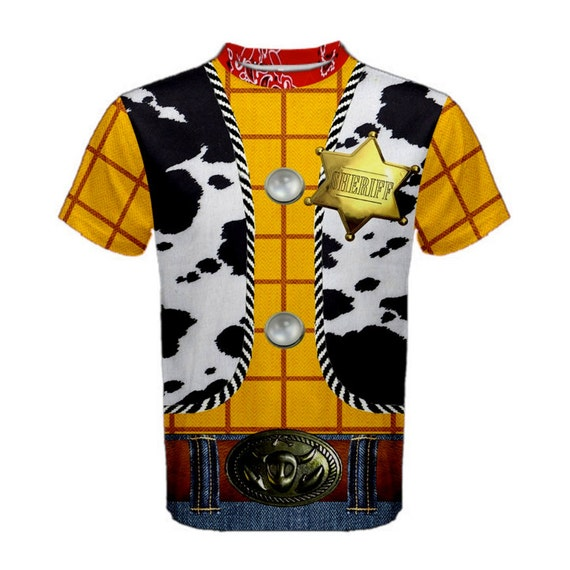 Men's Woody Toy Story Inspired Athletic by KawaiianPizzaApparel