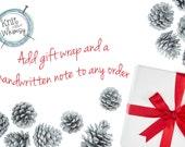 Gift wrap www.knitabitofwhimsy.etsy.com