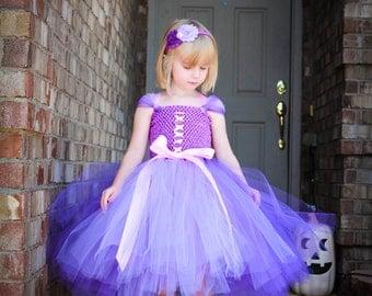 Rapunzel tutu dress.  Rapunzel Halloween Costume. Rapunzel Princess dress. Rapunzel Pageant dress. Baby/Toddler Rapunzel dress.
