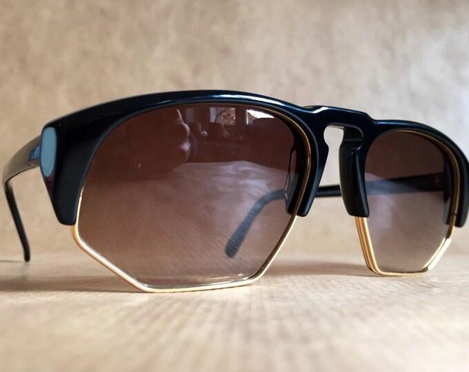 Francesco Smalto 65307 Vintage Sunglasses Made in France, New Old Stock Mint