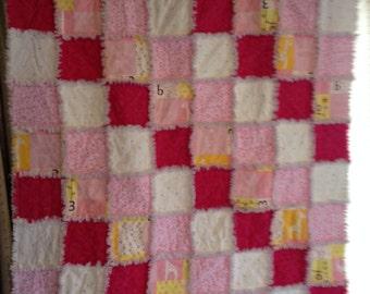 baby ragged blanket