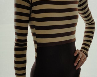 Add Long Sleeves to custom leotard - ballet leotard by Yukitard