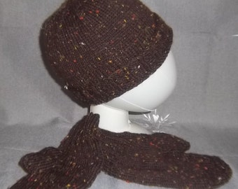 Tuque and mittens for men set
