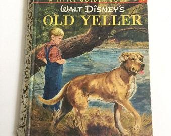 Walt Disney's  Old Yeller Little Golden Book First Edition