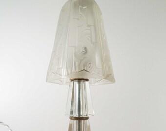 Lamp mushroom Art Deco