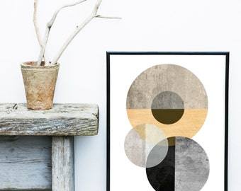 Textured Wall Art, Abstract Art Print, Scandinavian Art, Geometric Print,  Geometric Print, Giclee print, Wall Art, Poster, contemporary Art