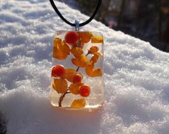 Winter Berries necklace