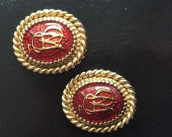 VIntage 1980s Butler and Wilson Earrings