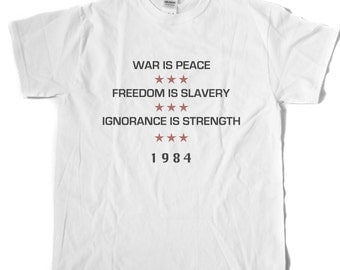 1984 INGSOC Motto T-Shirt