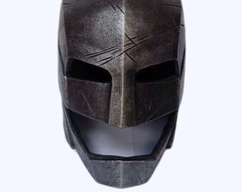 Batman Battle-Damaged Helmet