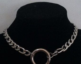 stainless steel O ring choker