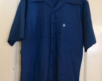 Vintage Montgomery Wards Shirt Mens Large