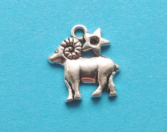 1 Aries Zodiac Charms Silver - CS2168