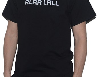 RLRR LRLL Drumming T-Shirt (Paradiddle) for Drummers