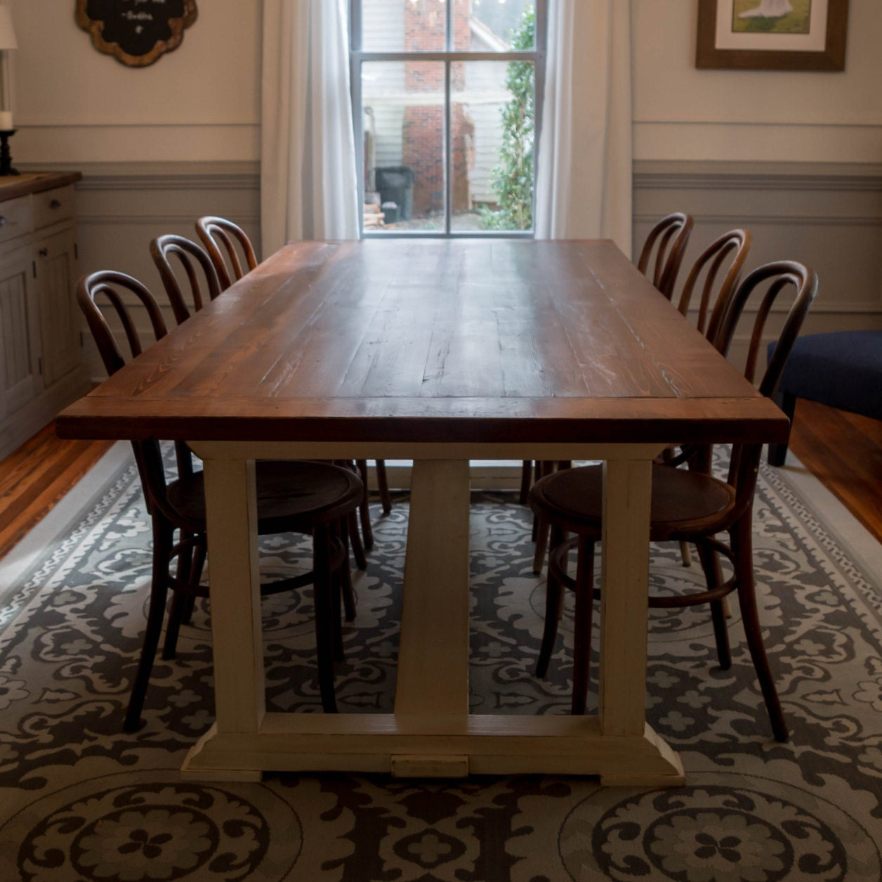 Dining room table local sale only for Dining room tables etsy