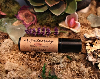 Happy Headspace| Headache relief essential oil blend roll on 10ml bottle