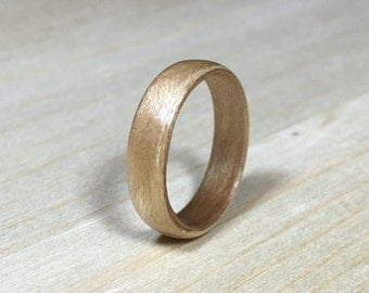 Wood Ring - Size US 4 - Maple