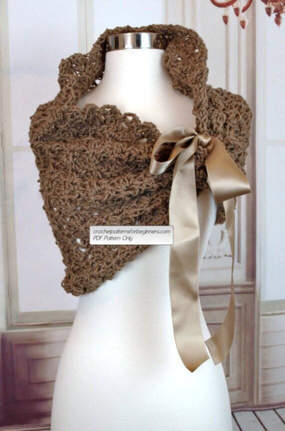 Crochet Bridesmaids Shawl Pattern Crochet Shrug Pattern Easy