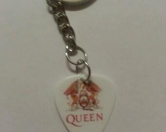 Queen Rock Band Keychain