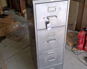 Industrial File Cabinet. Simple Modern Vintage Industrial File ...
