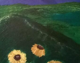 Original Painting Storm