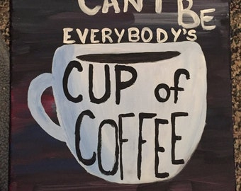 Cup of Coffee Painting