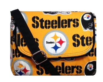 Pittsburgh Steelers Purse / NFL Game Day Bag