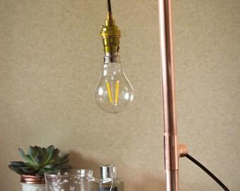 Handmade Copper Table Lamp