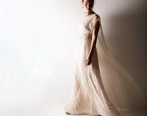 1920s Wedding dress, Boho wedding dress, Blush wedding dress, Hippie wedding dress, Bohemian wedding dress, Simple wedding dress, Plus size