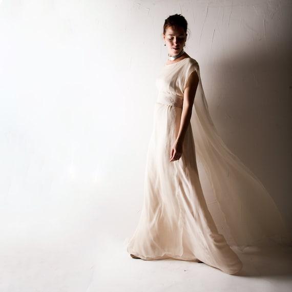 da sposa, abito da sposa, vestito di seta, abito da sposa semplice ...