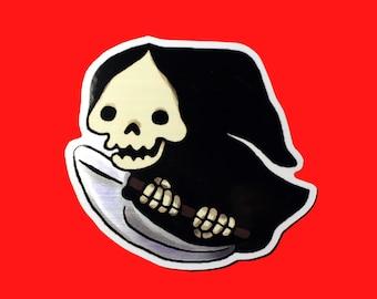 Shiny Lil' Grim Sticker