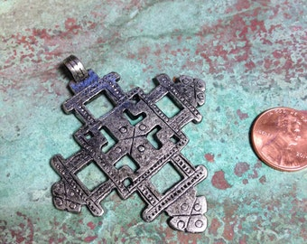 Ethiopian Cross, African Cross Pendant, Casting of African Cross, Ethnic jewelry, Bohemian Pendant, Buy More and Save