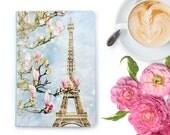 Paris Notebook - Paris Journal, Blank Planner, Paper Goods, Paris Stationery, Eiffel Tower, Travel Journal