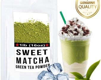 Sweet Matcha Green Tea (16oz/30 servings)  - FREE 1-3 Day USA Shipping