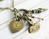 Personalized Ballet necklace, Personalized Children's necklace, Ballerina necklace, Dance necklace, Europe