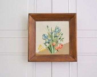 1960s Floral Framed PBN