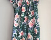 Hawaiian muumuu dress size X-large XL to XXL