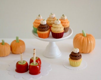 1:6 Scale Sweet Petite Play Scale Miniature Autumn Sweets Set