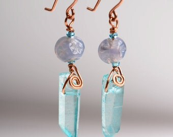 Faerie Crystal Earrings.