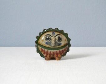 Vintage Tonala Owl Figurine by Jorge Wilmot
