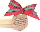 Funny Christmas Tree Ornaments.  Wood Christmas Ornaments. Christmas tree ornaments Holiday Decor. Christmas Quotes. Wooden Ornaments.