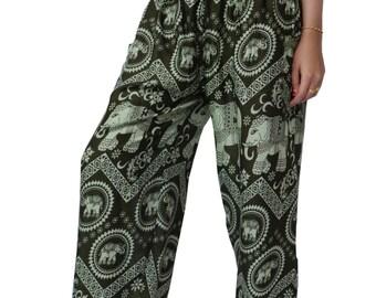 Haram pants Elephant pants  Bohemian Pants Hippies pants Yoga Pants Aladdin Boho Thai Pants Festival Pants