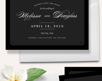 Save the Date Magnets - Vintage Save the Dates - Wedding Announcements [STD008]