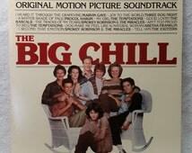 The Big Chill Soundtrack Record - Vintage Soul Vinyl LP - 1983