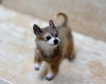 Custom dog portrait dog stuffed animal dog sculpture pet portrait personalized dog lover gift chihuahua dog