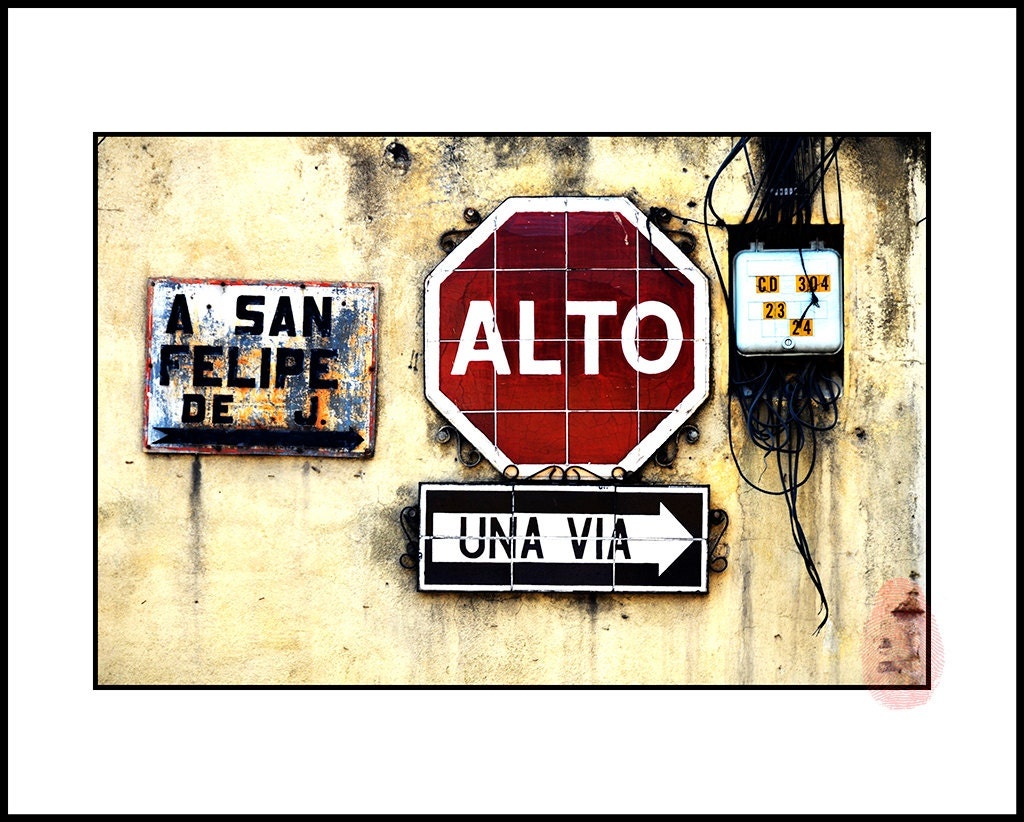 Beautiful Street Sign Wall Art Contemporary - The Wall Art ...