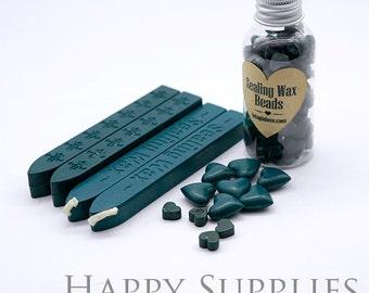 Dark Green /Deep Green / Blackish Green   Sealing Wax for Wax Seal Stamp Set
