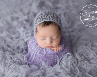 CHOOSE ONE, Newborn Hat, Bonnet, Newborn Bonnet, Mohair Hat, Knit Hat, Newborn Knit Hat, Photo Props, Photography Props, Newborn Props