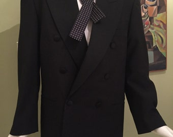 Excellent Vintage Two-Piece Double Breasted Tuxedo
